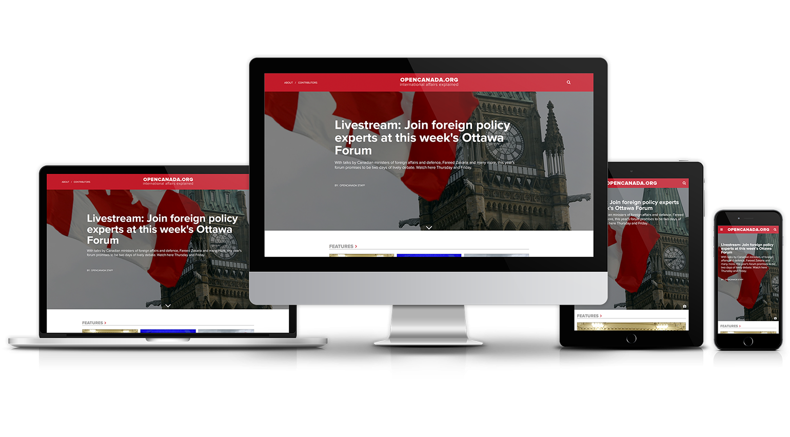 Open Canada Homepage