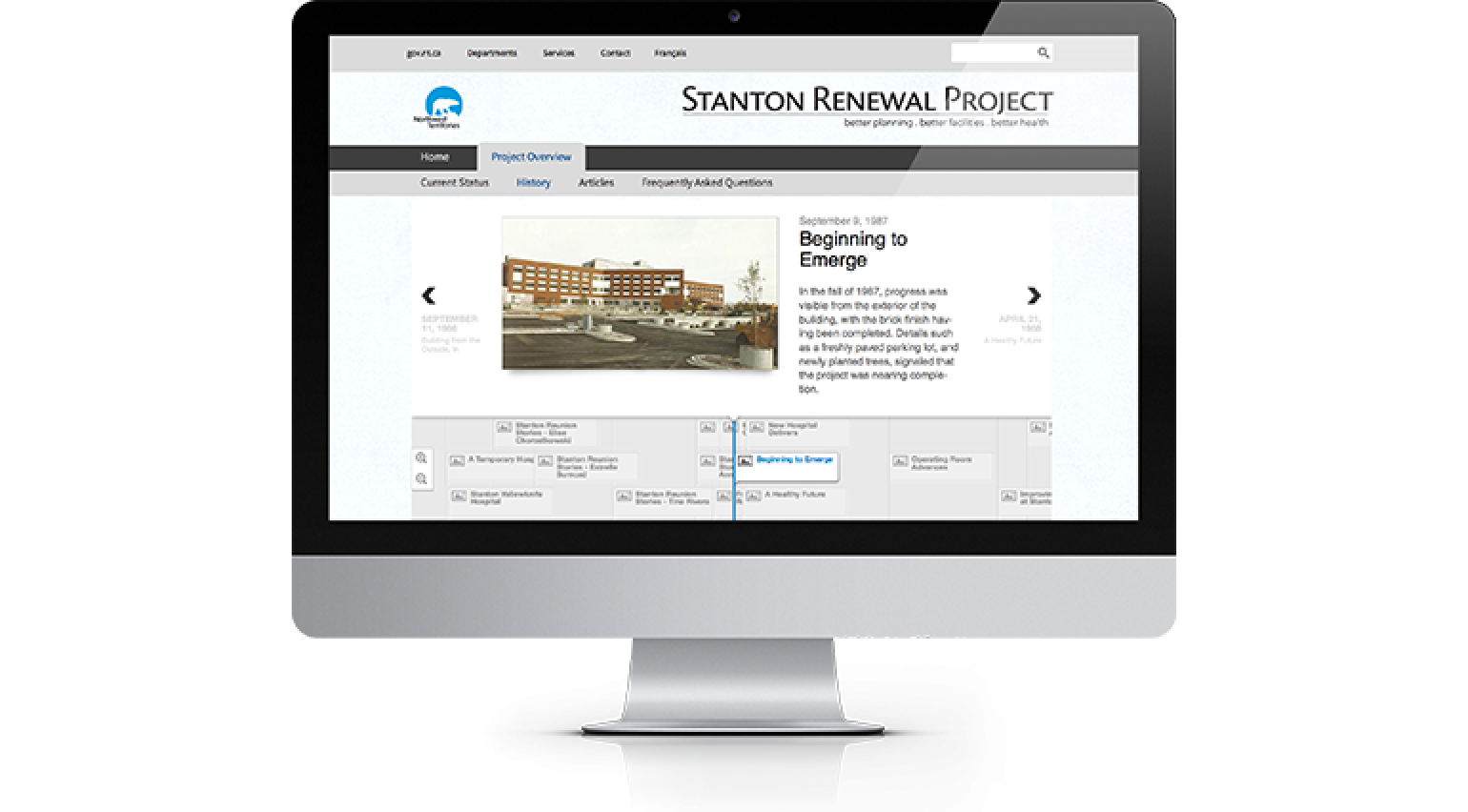 Stanton Renewal Project History